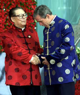 Bush in China