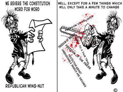 Gotta Constitution fetish republicans prefer fuck