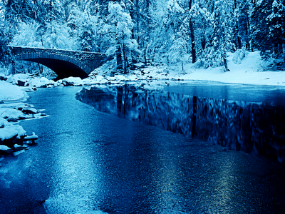 national parks, snow, river, forests, american landscapes