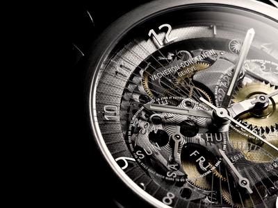 watch works, watch gears, see through watch