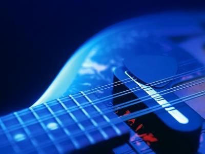 music, blue