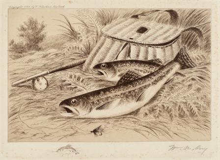 A Good Catch, 1892 by William De La Montagne