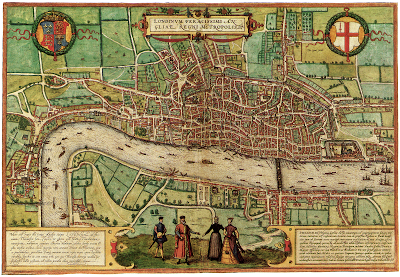 London Street Map of 1548