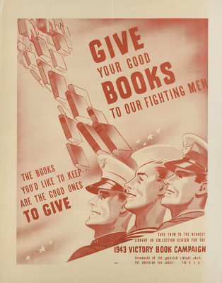 Give Your Good Books To Our Fighting Men