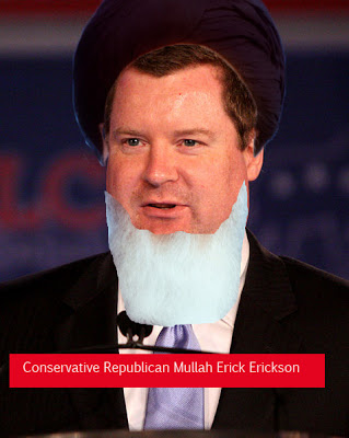 Erick Erickson makes it worse