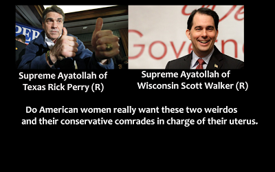 Rick Perry and Scott Walker